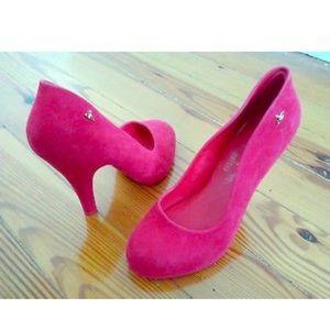 Vivienne Westwood Melissa velvet pumps size 6